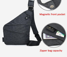 Load image into Gallery viewer, Waist Bag Phone Pocket Chest Pack Nylon Waist Pack