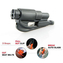Load image into Gallery viewer, Portable Car Emergency Safety Hammer