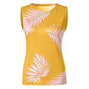 Women's New Style Printed Vests