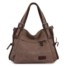Load image into Gallery viewer, Women Canvas Casual Daily Shoulder Bag Crossbody Bags Travel Handbag