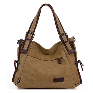 Women Canvas Casual Daily Shoulder Bag Crossbody Bags Travel Handbag