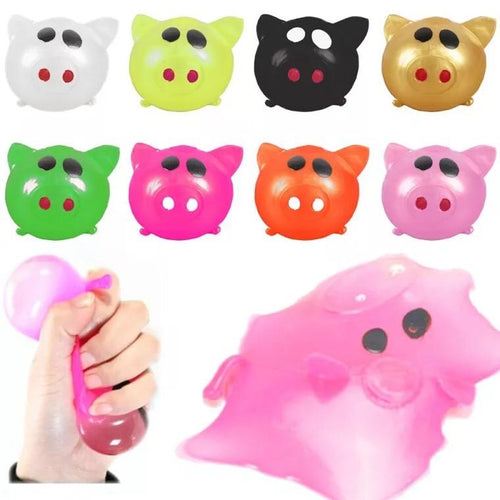 5 Pieces Vent Ball Pig Decompression Creative Soft Ball