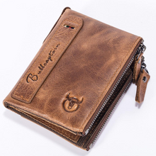 Load image into Gallery viewer, Casual Men Zipper Short Wallet