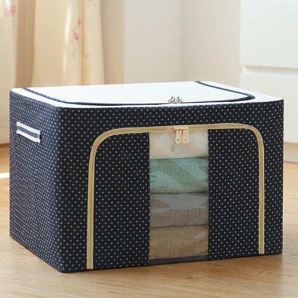 72L Foldable Clothes toys Storage Box