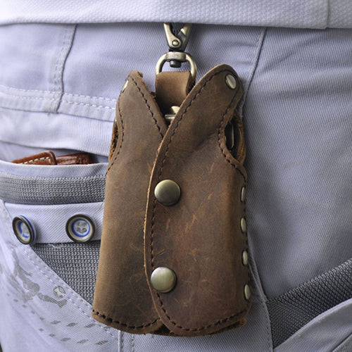 Keychain Men's Car Key Holder Organizer Pouch