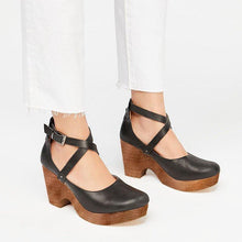 Load image into Gallery viewer, Buckle Cross Straps Chunky Sandals