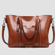 Load image into Gallery viewer, Women's Vintage Large Capacity Solid Bag