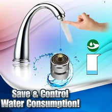 Load image into Gallery viewer, Water Saving One-Touch Control Faucet Aerator