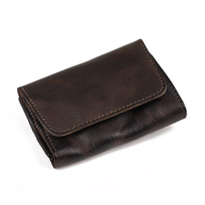 Retro Unisex Mini Fashion Card Pocket Wallet