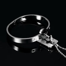 Load image into Gallery viewer, Heart Lock Bracelet & Key Necklace(Couple)