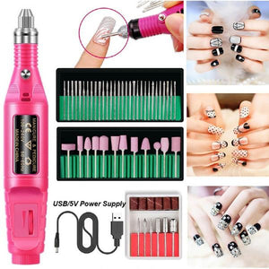 Pen-Type Electric Nail Polisher Set