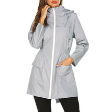 Load image into Gallery viewer, Fashion Hoodie Water-proof Pocket Outdoor Women Coats
