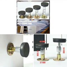 Load image into Gallery viewer, Adjustable Threaded Bed Frame Anti-shake Tool Telescopic Support for Room Wall