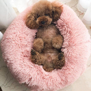 Comfortable Donut Cuddler Dog & Cat Ultra Soft Pet Bed