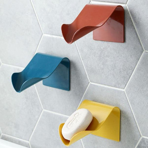3PCS Bathroom Shower Wall Soap Box