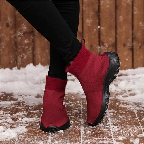 Non-slip Wear-resistant Warm Snow Boots