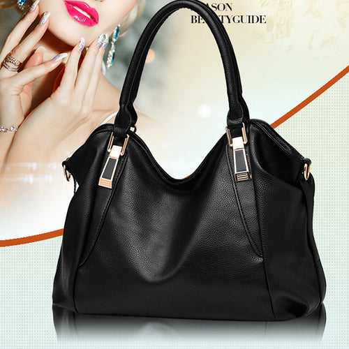 Women Handbag Lady PU Leather Shoulder Messenger Bag