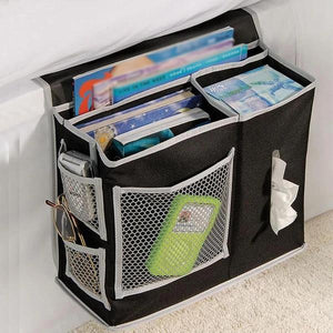 Multi-function Bedside Storage Organizer