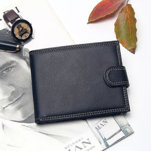 Load image into Gallery viewer, Men's Trifold Hasp Design Wallet Multi Slots Portable Card Holder