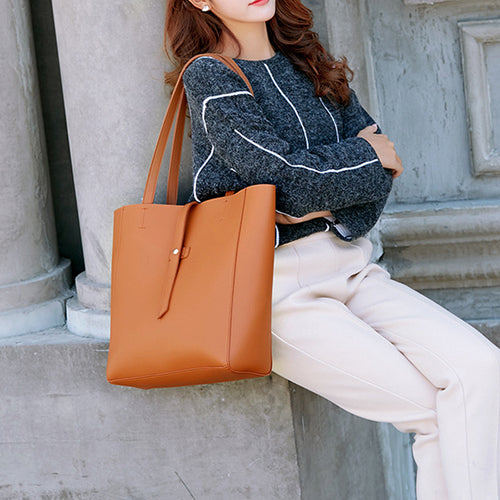 Women Handbag Lady PU Leather Shoulder Bag