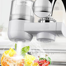 Load image into Gallery viewer, Kitchen Activated Carbon Ceramic Strainer Washable Faucet Filter Water Purifier