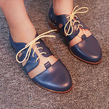 Load image into Gallery viewer, Women Fashion Lace Up Hollow Out Sandals