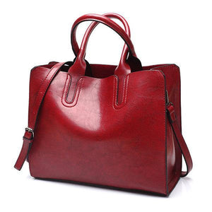 Ladies Square Tote Handbag Crossbody Bag