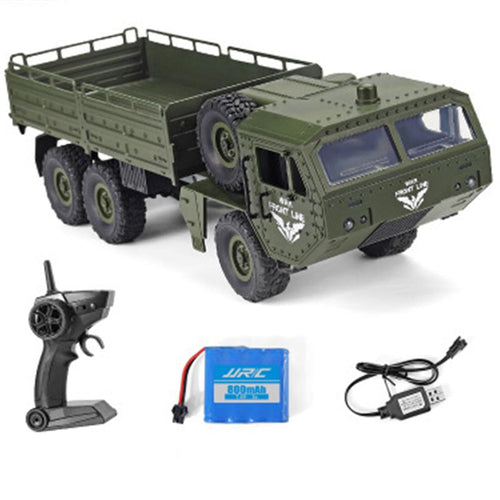 Army Military 2.4GHz Strong Powered Remote Control Electric Vehicle Trucks Model Toys for Boys Gift