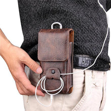 Load image into Gallery viewer, Retro Earphone Multifunction Mobile Universal Bag Waist Bag