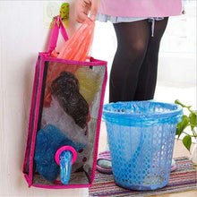 Load image into Gallery viewer, Kitchen Hanging Breathable Mesh Grid Garbage Convenient Extraction Storage Bag