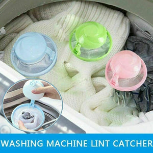 Pet Hair Remover For Washing Machine Reusable Hair Filter Net Bag