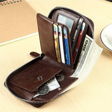 Load image into Gallery viewer, Men Large Capacity Front Pocket Wallet