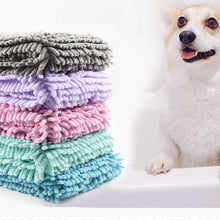 Load image into Gallery viewer, Ultra-absorbent Soft Dog Bath Multipurpose Drying Towel