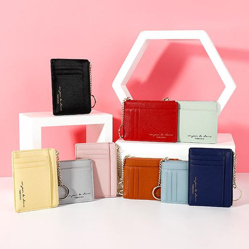 Women's Zipper Purse Card Packages