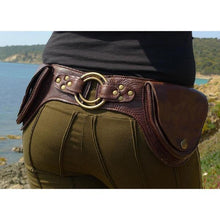 Load image into Gallery viewer, Men's Vintage Multi-pocket Utility Belt Bag