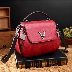Women Vintage Style Tassel Bucket Handbag Shoulder Bag