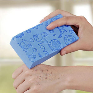 Bath Sponge Printed Scrub Shower