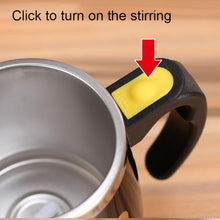 Load image into Gallery viewer, Automatic Magnetic Coffee Stirring Mug