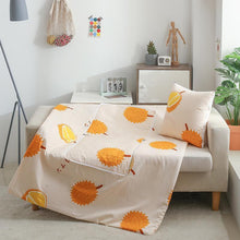 Load image into Gallery viewer, Pillow Cushion Blanket 2 In 1 for Beds Car Soft Summer Bed Cover 100*150 cm