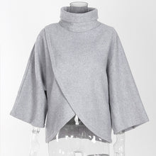 Load image into Gallery viewer, Fashion Autumn Winter High Neck Sweater
