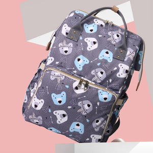 Durable Polar Bear Weekender Diaper Bag