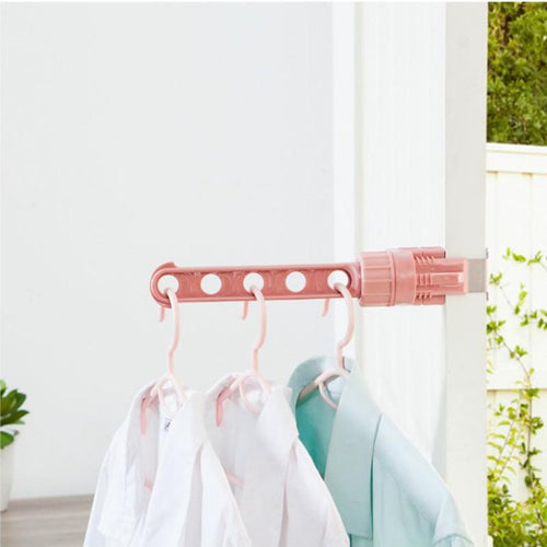 Creative Drying Clothes Hangers Home Bathroom Organizer Storage Hanger