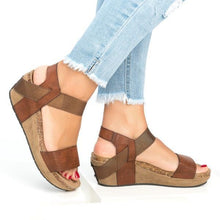 Load image into Gallery viewer, Summer Women Comfy Wedges Platform Sandals