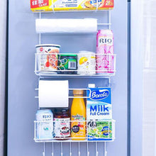 Load image into Gallery viewer, Kitchen Multifunction Refrigerator Organizer Shelf Space Saver Fridge Side Wall Storage Hanging Holder