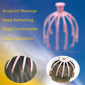 12 Claw Steel Balls Scalp massager