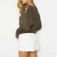 Load image into Gallery viewer, Sexy Pullover Long Sleeve Sweater