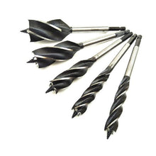 Load image into Gallery viewer, 2pcs Four-slot Four-blade High Speed Steel Twist Drill Bit
