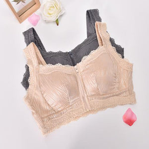 Sexy Lace Wireless Front Closure Push Up Bras