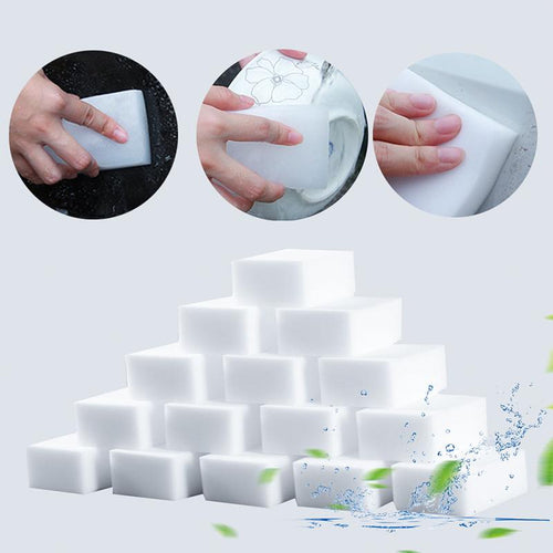 Nano Magic Sponge Eraser Kitchen Office Bathroom Multi-functional Strong Removes Stains Sponge