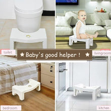 Load image into Gallery viewer, Multi-Function Anti Constipation Folding Toilet Stool